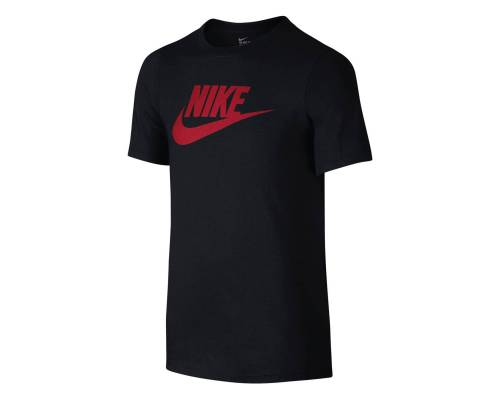 T-shirt Nike Logo Noir / Rouge