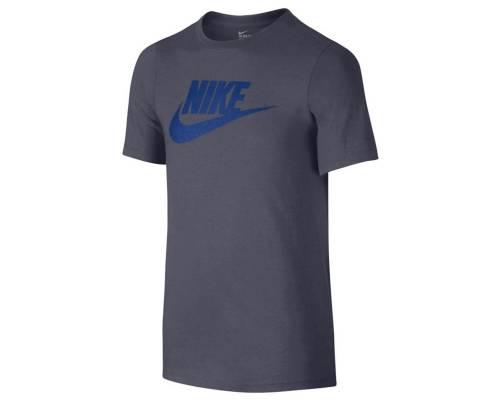 T-shirt Nike Logo Gris / Bleu