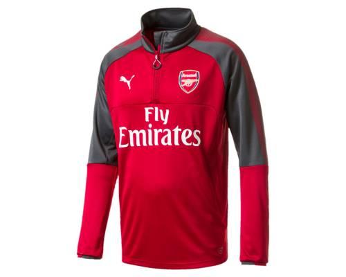 Training top Puma Arsenal 2017-18 Rouge