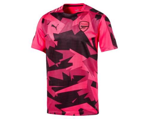 Maillot Puma Arsenal Stadium 2017-18 Rose