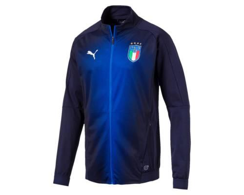 Veste Puma Italia Stadium Bleu