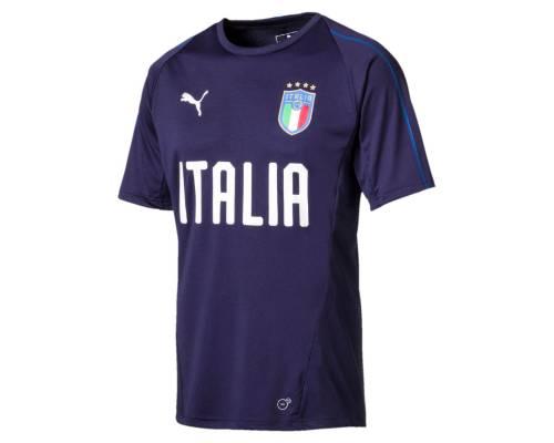 Maillot Puma Italia Training Bleu