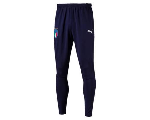 Pantalon Puma Italia Coach Training Bleu
