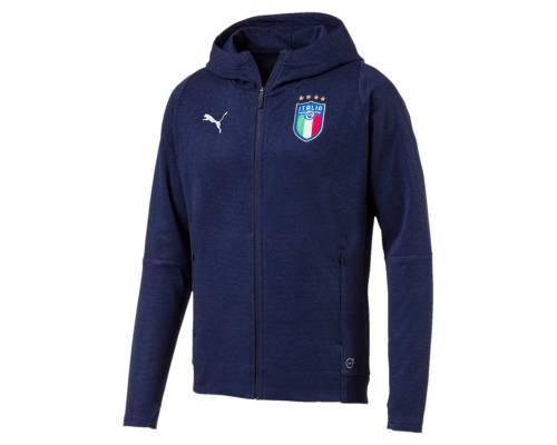 Veste Puma Italia Casual Bleu