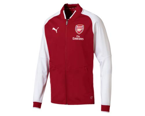 Veste Puma Arsenal Stadium 2017-18 Rouge / Blanc