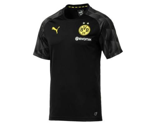 Maillot Puma Borussia Dortmund Stadium 2017-18 Noir