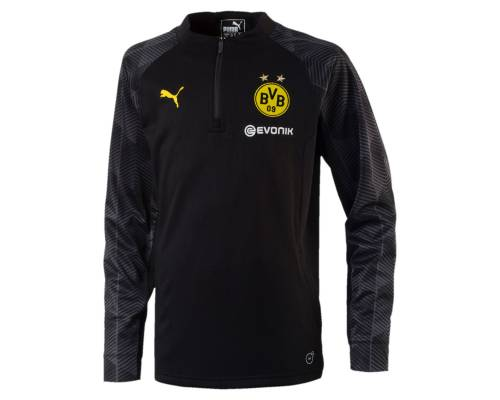 Training top Puma Dortmund 2017-18 Noir / Jaune