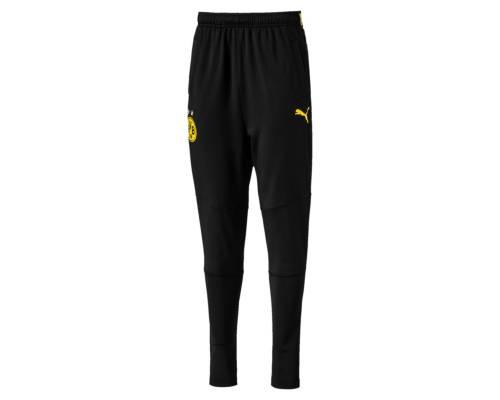 Pantalon Puma Borussia Dortmund Training 2017-18 Noir / Jaune