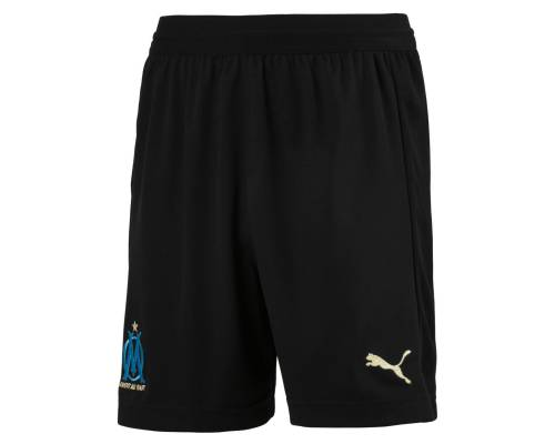 Short Puma Om Exterieur 2018-19 Noir Junior