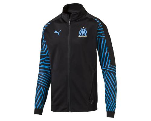 Veste Puma Om Stadium 2018-19 Noir / Bleu