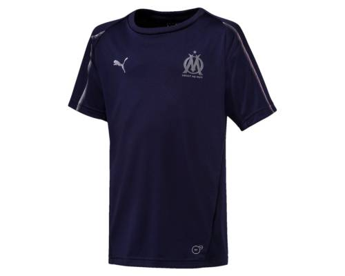 Maillot Puma Om Training 2018-19 Bleu Junior