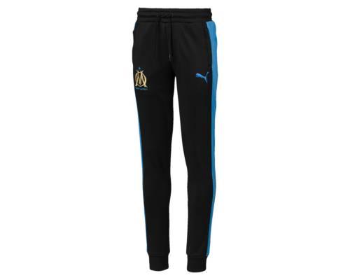 Pantalon Puma Om Fan T7 2018-19 Noir / Bleu Junior