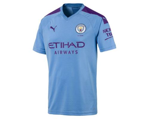 Maillot Puma Manchester City Domicile 2019-20 Bleu