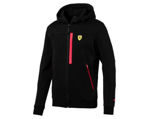 Veste Puma Ferrari Sweat Hd Noir
