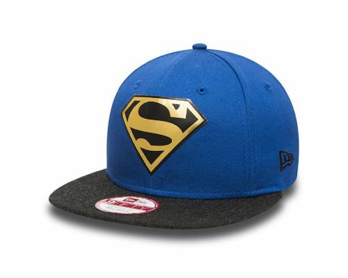 Casquette New Era Logo Weld Superman Bleu