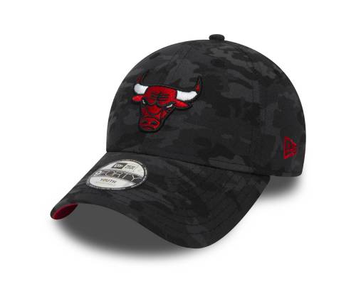 Casquette New Era Chicago Bulls 9forty Noir Camo