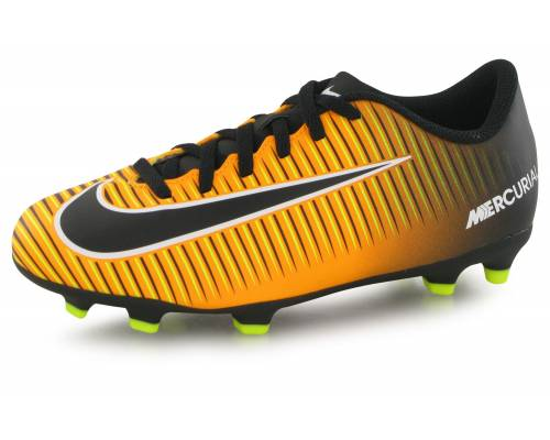 Nike Mercurial Vortex Iii Fg Orange / Noir
