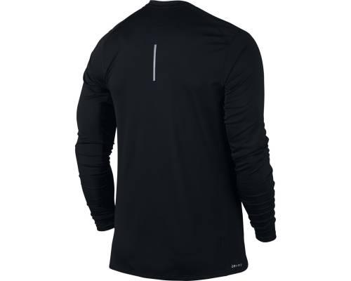 T-shirt Nike Dry Miler Ls Noir