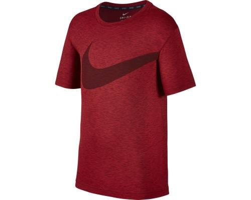 T-shirt Nike Breathe Hyper Gfx Rouge