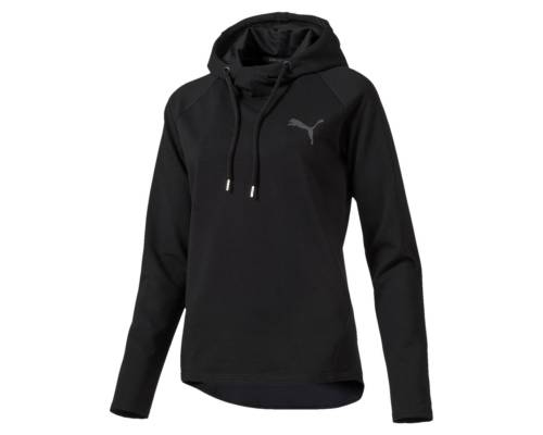 Sweat Puma Ess Hd Cover Up Noir