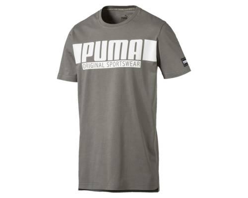 T-shirt Puma Fd Athletic Graphic Gris