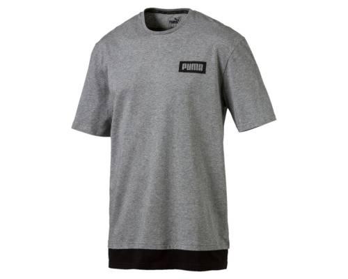 T-shirt Puma Rebel Gris / Noir