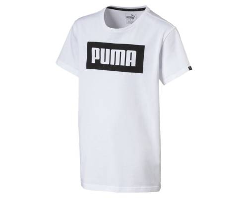T-shirt Puma Rebel Blanc