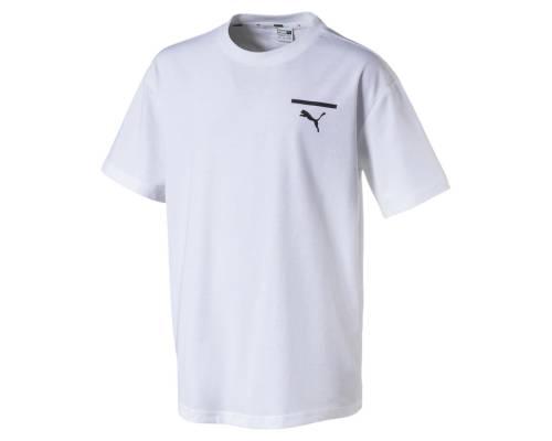 T-shirt Puma Evo Graphic Blanc
