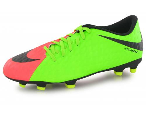 Nike Hypervenom Phade Iii Fg () Electric Green & Black