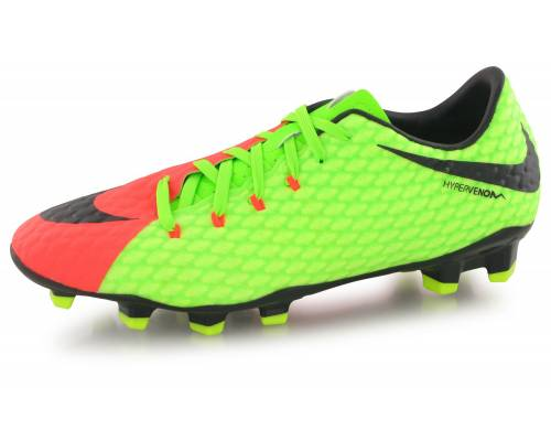 Nike Hypervenom Phelon Iii Fg Electric Green