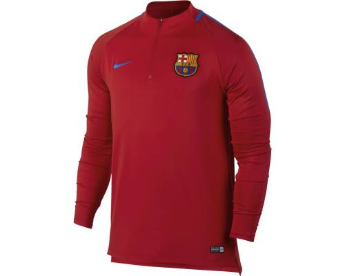 Training top Nike Barcelone 2017-18 Rouge