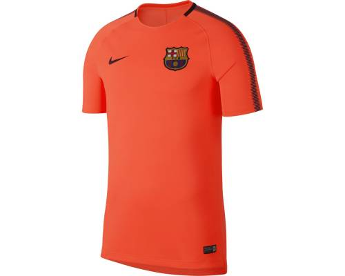 Maillot Nike Barcelone Training 2017-18 Orange