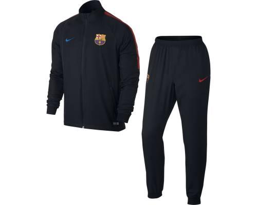 Survêtement Nike Barcelone 2017-18 Noir