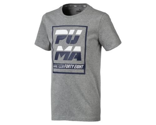 T-shirt Puma Alpha Graph Gris Junior