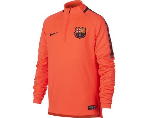 Training top Nike Barcelone 2017-18 Orange
