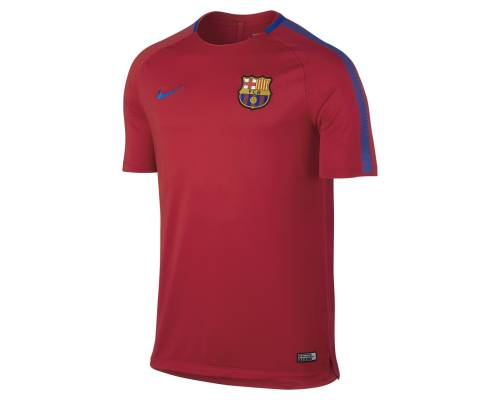 Maillot Nike Barcelone Training 2017-18 Rouge