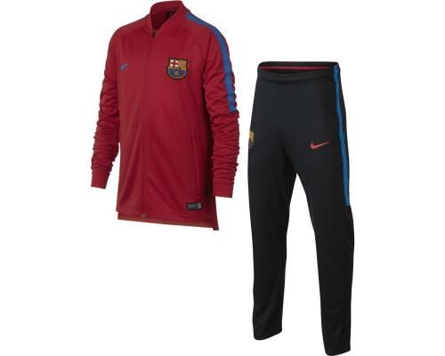 Survêtement Nike Barcelone 2017-18 Rouge / Noir