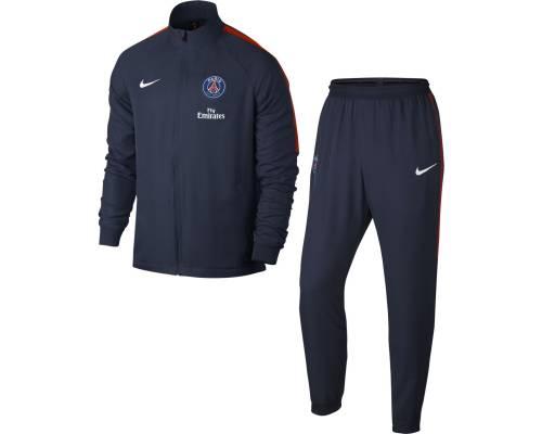 Survêtement Nike Psg 2017-18 Bleu