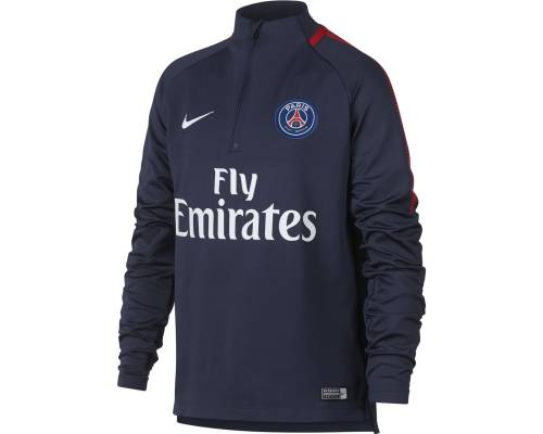 Training top Nike Psg 2017-18 Bleu