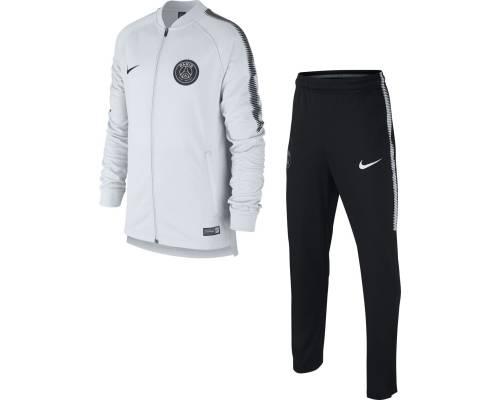 Survêtement Nike Psg Dry 2017-18 Platinium / Noir