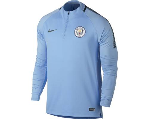 Training top Nike Manchester City 2017-18 Bleu