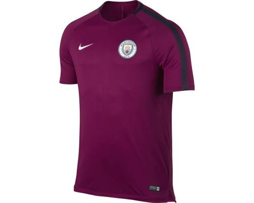 Maillot Nike Manchester City Training 2017-18 Violet