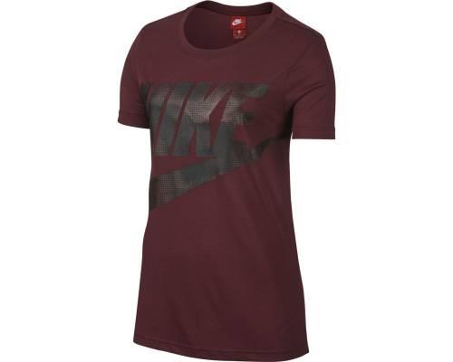 T-shirt Nike Glacier Bordeaux