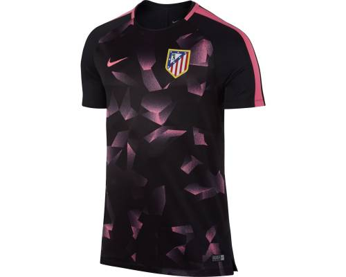Maillot Nike Atletico Madrid Training Noir / Rose