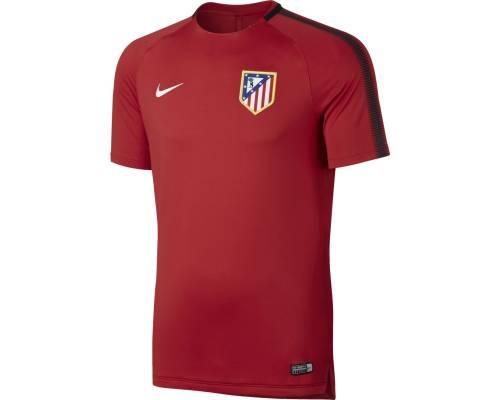 Maillot Nike Atletico Madrid Training 2017-18 Rouge
