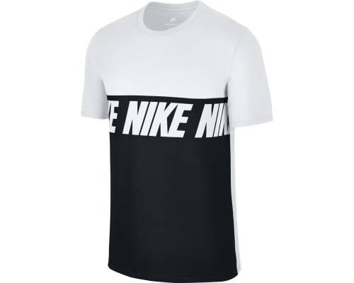 T-shirt Nike Nsw Advance 15 Blanc / Noir
