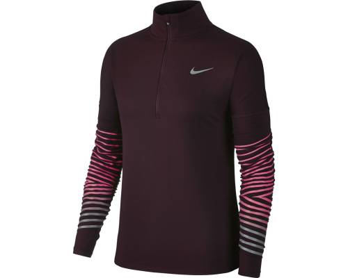T-shirt Nike Dry Flash Elemnt Bordeaux