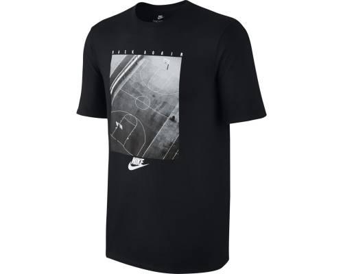 T-shirt Nike Nsw Back Again Noir