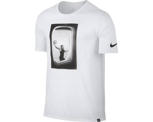 T-shirt Nike Kd Flye Blanc