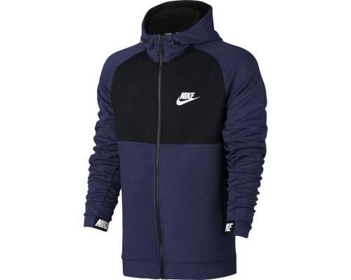 Veste Nike Nsw Av15 Hoodie Bleu / Noir